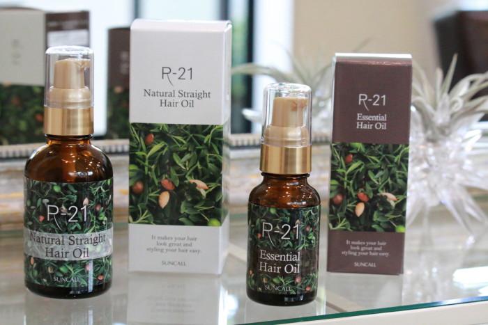 R-21エッセンシャルヘアオイル