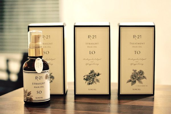 ☆R-21 HAIR OIL SERIESリニューアル☆